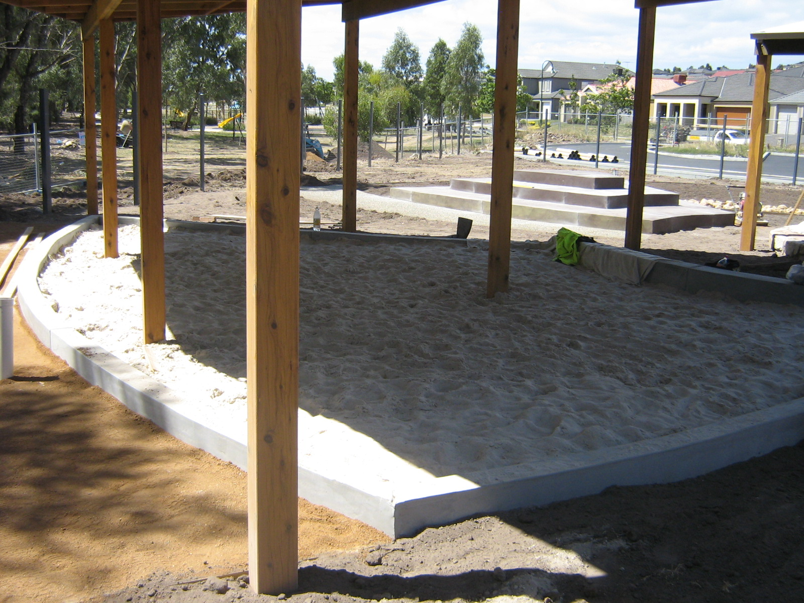 sand-pit-construction