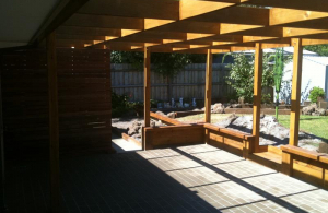 Open Roof Pergola